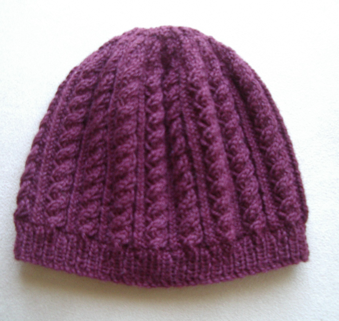 Free Knit Beanie Pattern : Knitting Patterns Online - Knitted Beanie, Scarf and Headband Patterns