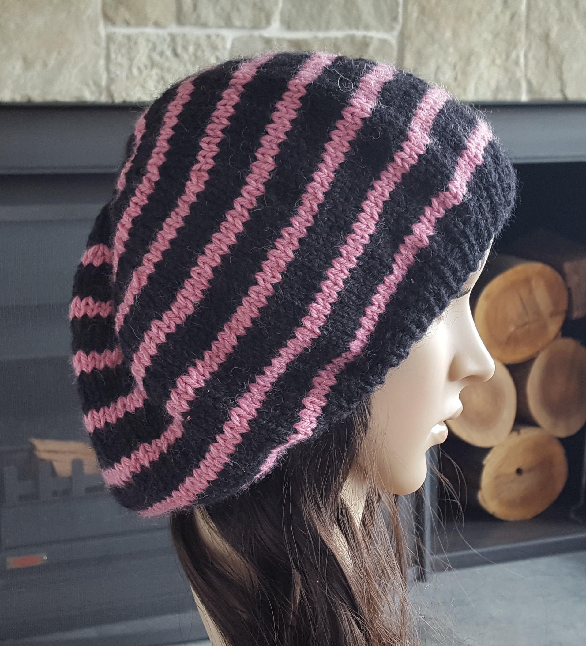 Balaclava Knitting Pattern 2 Needles : Knitting Patterns Online - Knitted Beanie, Scarf and Headband Patterns